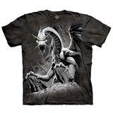 T-Shirt, Black Dragon