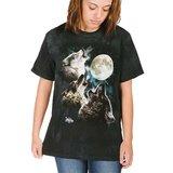 the Mountain T-Shirt, Three Wolf Moon