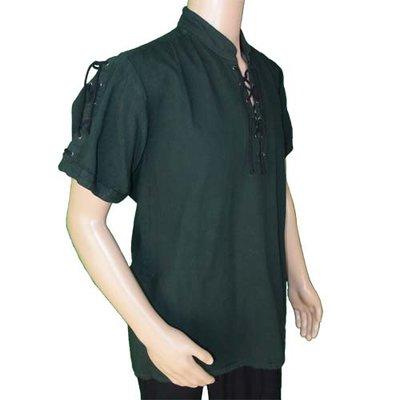Middeleeuwen Hemd met korte mouwen Groen