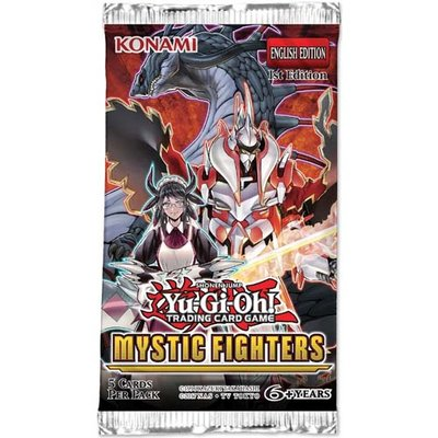 Yu-Gi-Oh! Mystic Fighters Booster