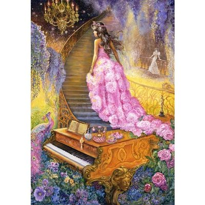 Puzzel Josephine Wall, Melody in Pink