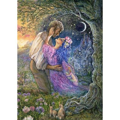 Puzzel Josephine Wall, Love Between Dimensions