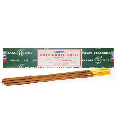 Patchuli Forest Nag Champa Wierook 15 Gram