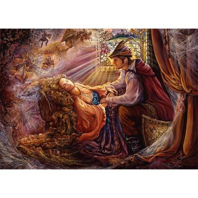 Puzzel Josephine Wall, Sleeping Beauty