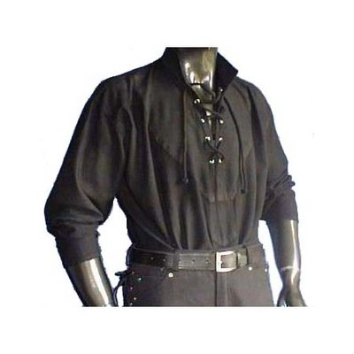 Middeleeuwen Hemd Zwart