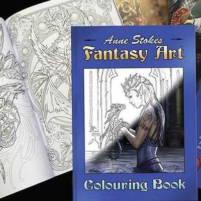 Kleurplaten Fantasie Volwassenen.Kleurboeken Voor Volwassenen Fairyland Fantasyshop Fairyland