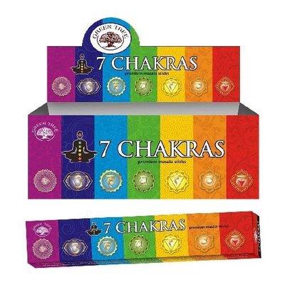 7 Chakras Wierook
