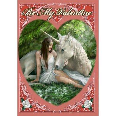 Anne Stokes Kaart Pure Heart Valentine