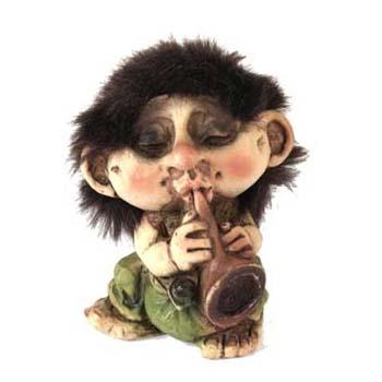 Troll met Waldhoorn