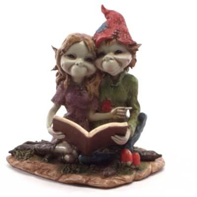 Pixiekoppel met Boek