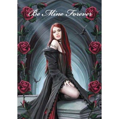 Anne Stokes Kaart Await the Night
