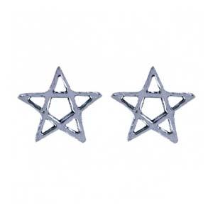 Oorknopjes, Open Pentagram