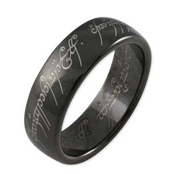 One Ring Titanium Blackline