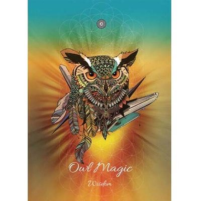 Karin Roberts Kaart Owl Magic