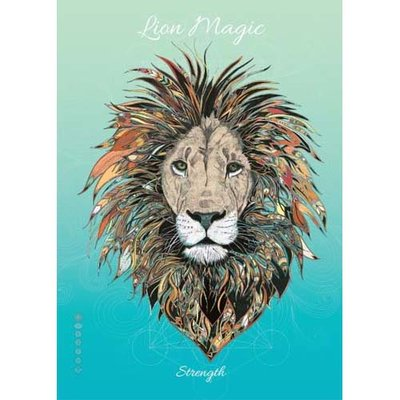 Karin Roberts Kaart Lion Magic