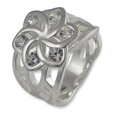 Nenya Flowers Kristal Ring