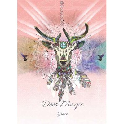 Karin Roberts Kaart Deer Magic
