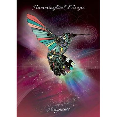 Karin Roberts Kaart Hummingbird Magic
