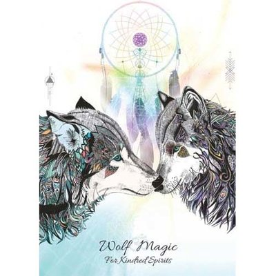 Karin Roberts Kaart Wolf Magic