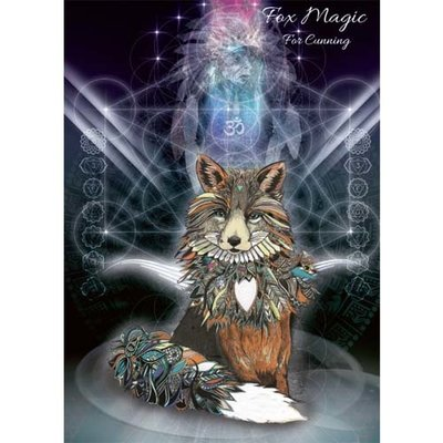 Karin Roberts Kaart Fox Magic