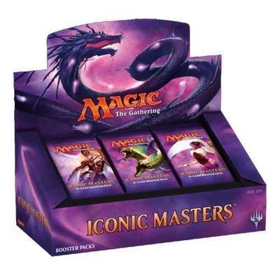Iconic Masters Boosterbox