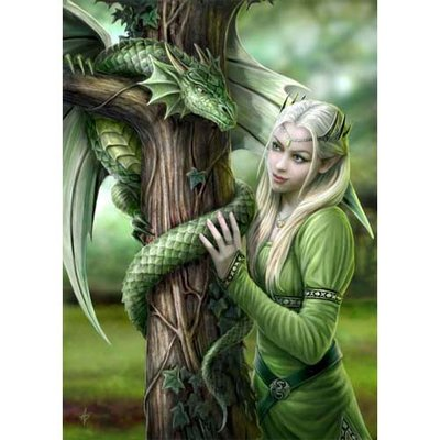 Anne Stokes Kaart Kindred Spirit