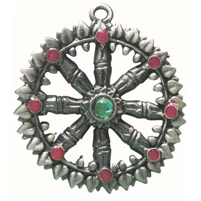 Briar Dharma Charms, Dharma Wheel