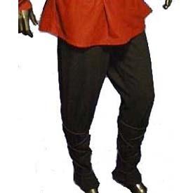 Middeleeuwen broek, Zwart