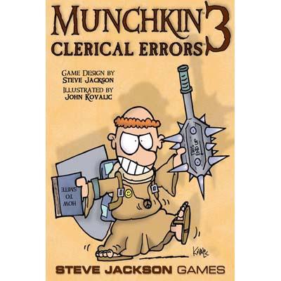 Munchkin 3 Clerical Errors