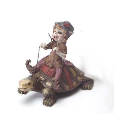 Pixie op Schildpad
