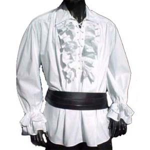 Piraten Hemd, Wit