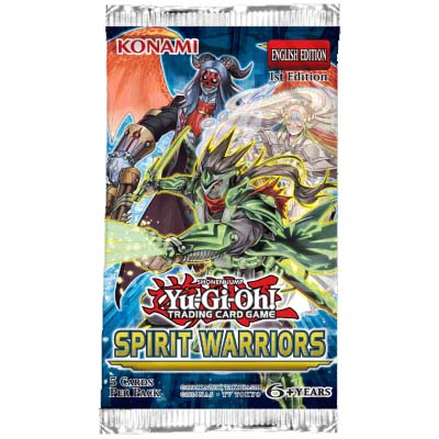 Yu-Gi-Oh! Booster Spirit Warriors