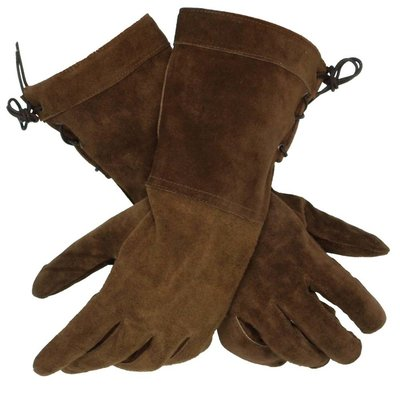 Leather Gloves, Bruin