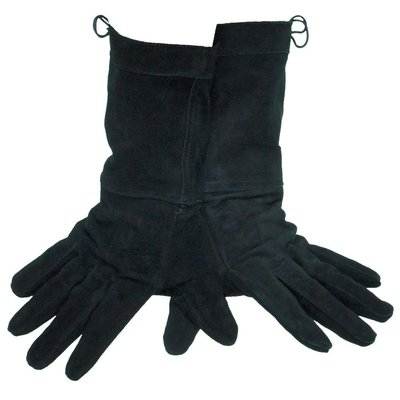 Leather Gloves, Zwart
