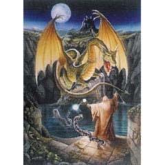Legends Cards Draak met Tovenaar