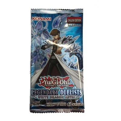 Yu-Gi-Oh! Booster Legendary Duelists White Dragon Abyss