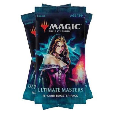 Ultimate Masters Booster 3-pack