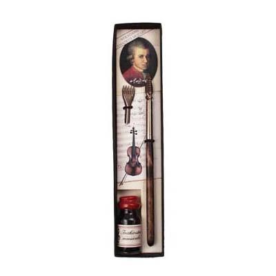 Mozart schrijfset met Notenbalkstift