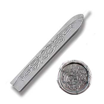 Zegelwax staafje met Lont, Zilver