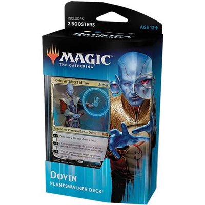 Magic: the Gathering Ravnica Allegiance Planewalker Deck Dovin