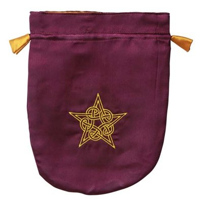 Tarot Bag, Celtic Pentacle