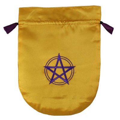 Tarot Bag, Pentagram in Circle