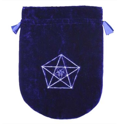 Tarot Bag, Triple Pentagram