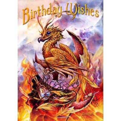 Briar Kaart Birthday Phoenix