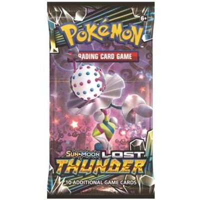 Pokemon Sun & Moon Lost Thunder Booster