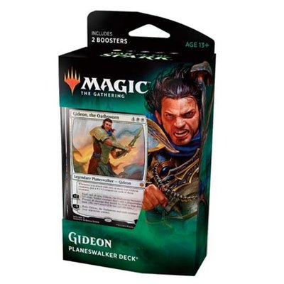 Magic: the Gathering War of the Spark Planewalker Deck Gideon