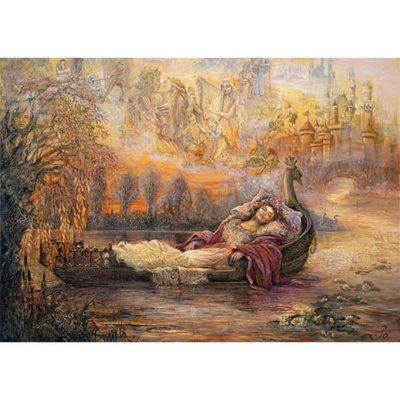Puzzel Josephine Wall, Dreams of Camelot