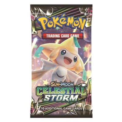 Pokemon Sun & Moon Celestial Storm Booster