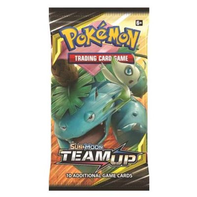 Pokemon Sun & Moon Team Up Booster