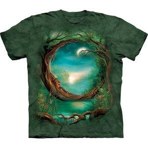 T-Shirt, Moon Tree